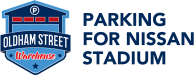Parking Nissan Stadium Logo